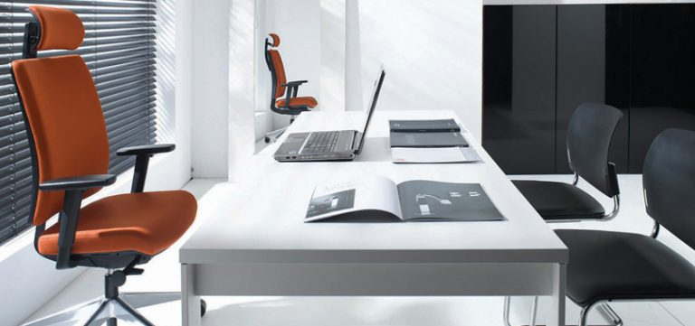 Executive-office-seating-with-ergonomic-design