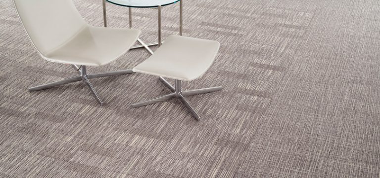 Reception carpet plain grey