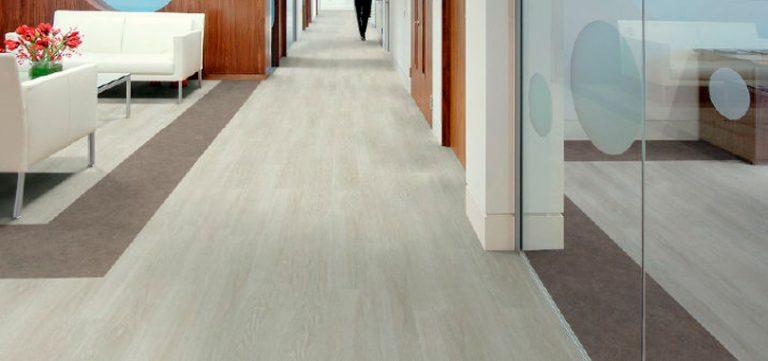 vinyl floor corridor