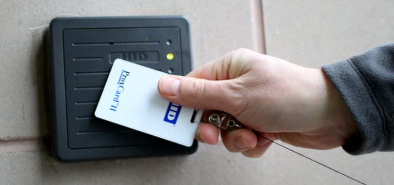 access control security swipe card