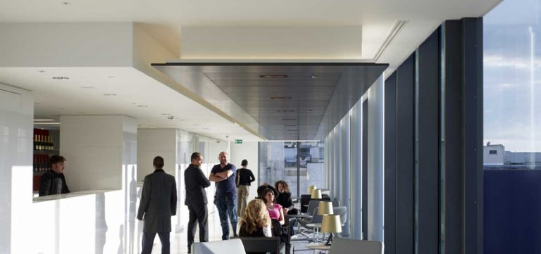 office-ceiling-rafts-in-black-white-accent