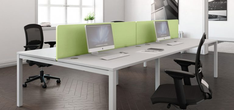 office-desk-screens-green-partition-front-panel