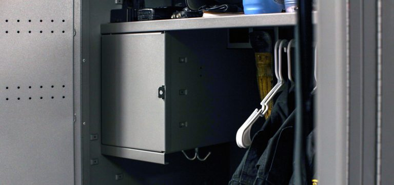 personal-storage-employee-locker-with-cloth-hanger