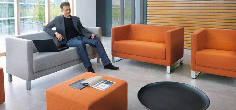 reception-seating-furniture-orange-grey-colour