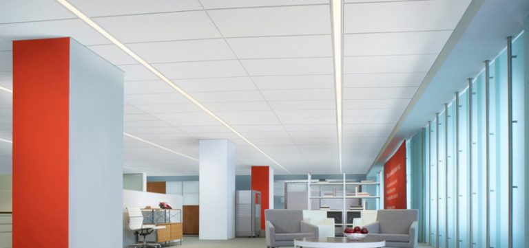 suspended-ceiling-white-lighting-fixture