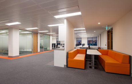 Apex-Office-Layout-Orange-Soft-Seating-with-White-Meeting-Table